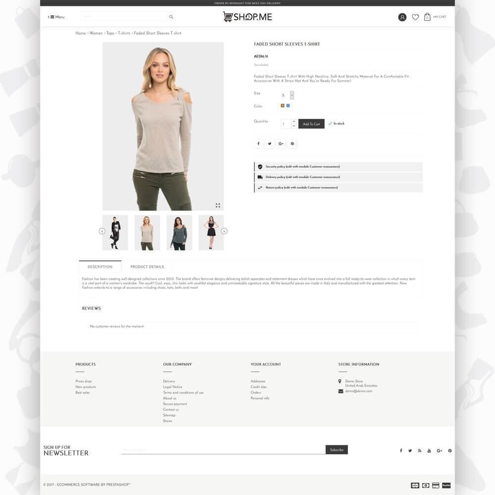 theme - Mode & Chaussures - ShopMe V3 - 5