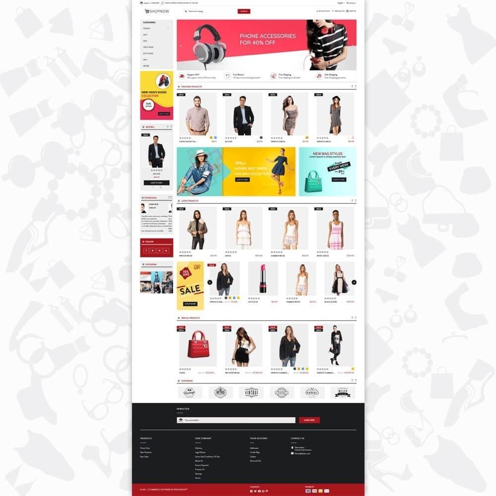 theme - Mode & Schoenen - ShopNow V1 Fashion - 2