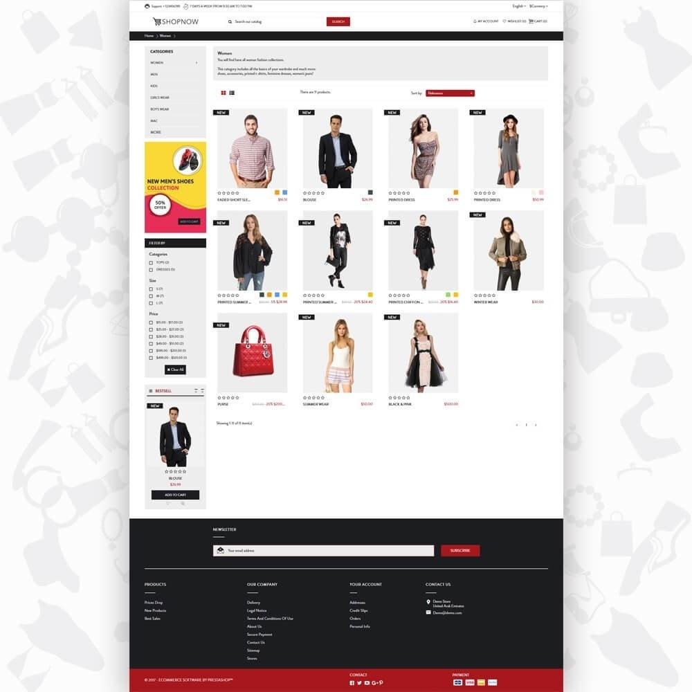 theme - Mode & Schoenen - ShopNow V1 Fashion - 3