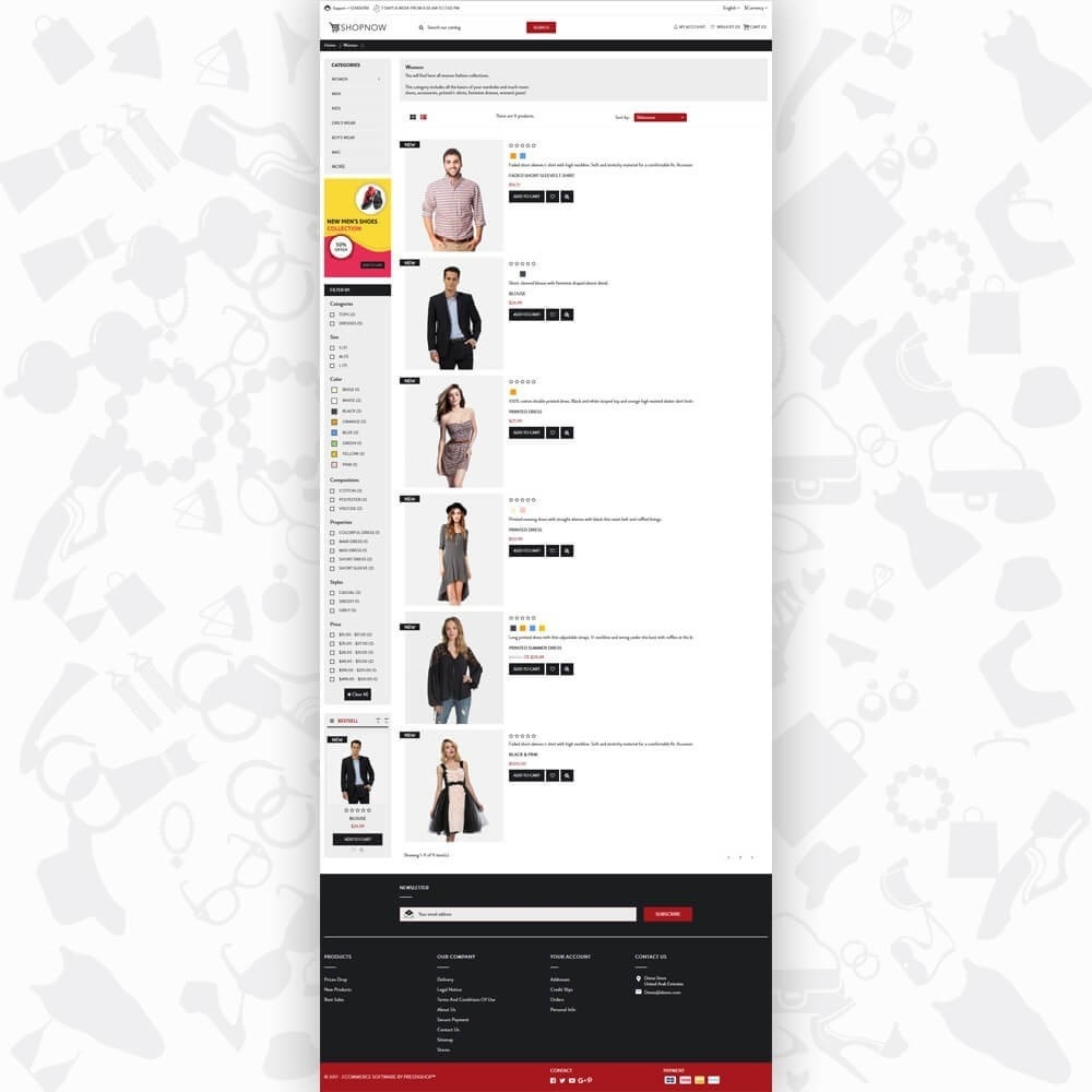 theme - Mode & Schoenen - ShopNow V1 Fashion - 4