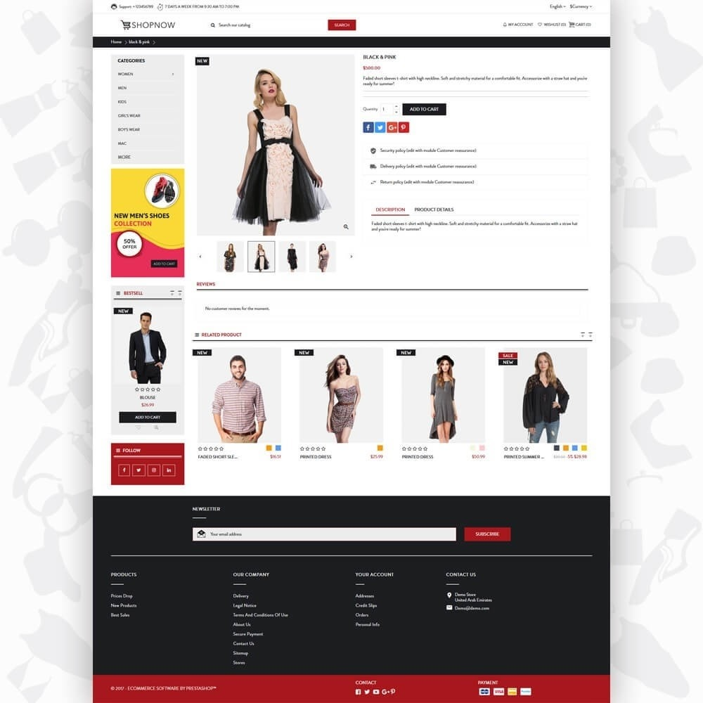 theme - Mode & Schoenen - ShopNow V1 Fashion - 5