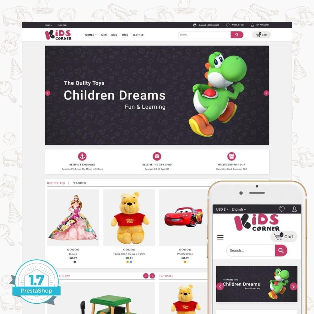 theme - Zabawki & Artykuły dziecięce - Kids Corner - 1