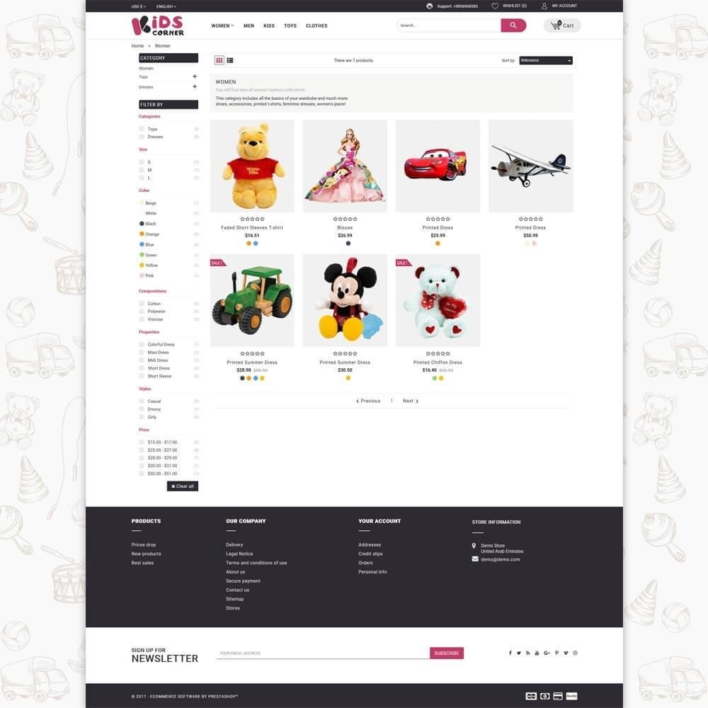 theme - Zabawki & Artykuły dziecięce - Kids Corner - 3