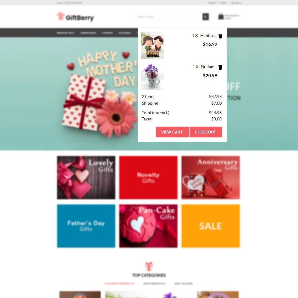 theme - Подарки, Цветы и праздничные товары - Gift berry - 9