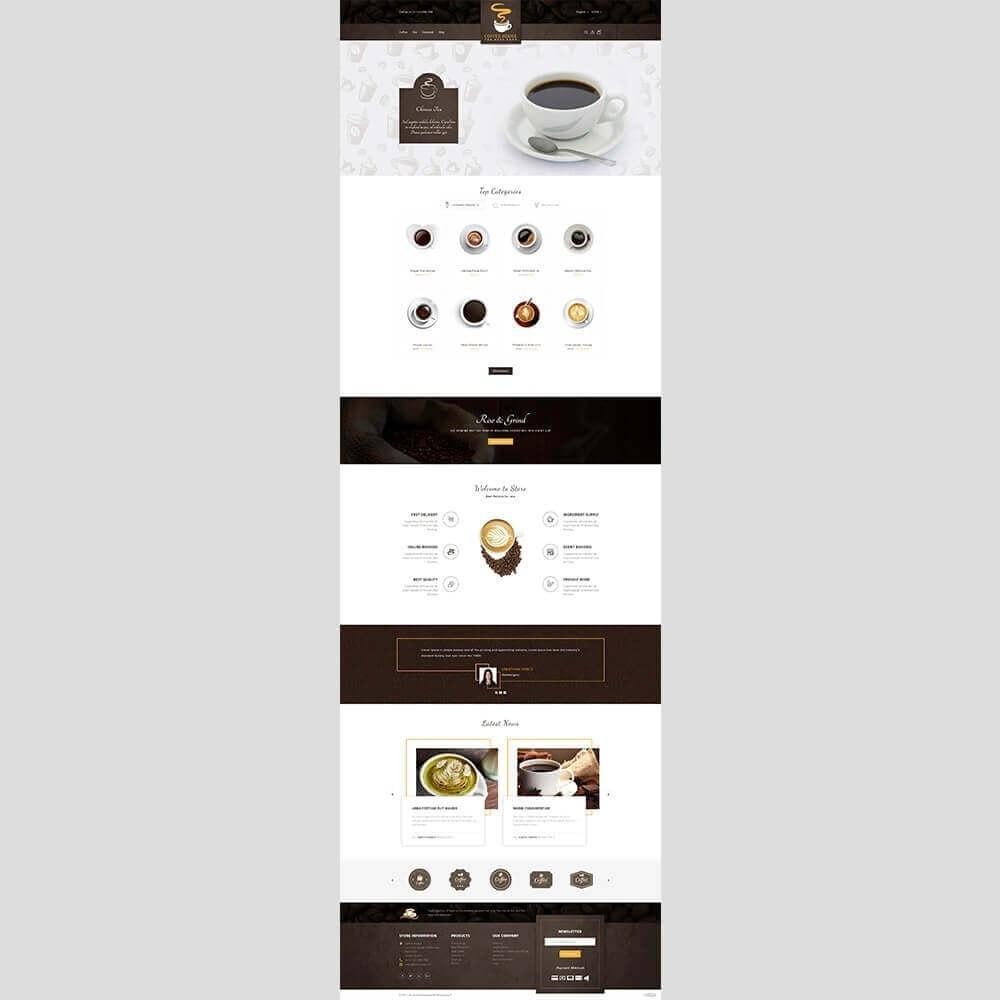 theme - Napoje & Wyroby tytoniowe - Coffee House - 2