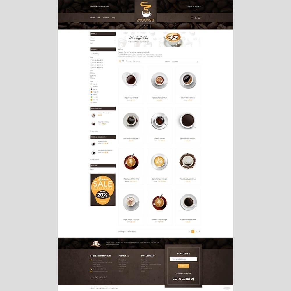 theme - Napoje & Wyroby tytoniowe - Coffee House - 3