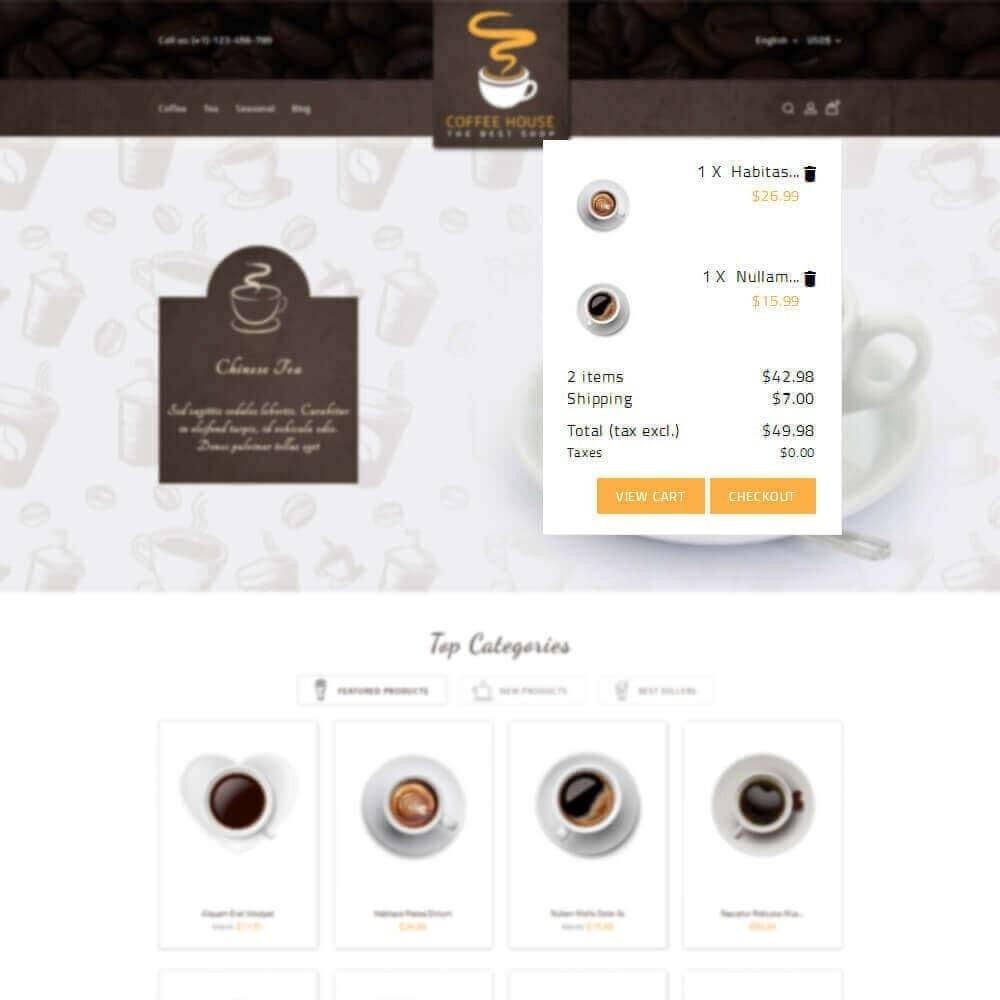 theme - Napoje & Wyroby tytoniowe - Coffee House - 8