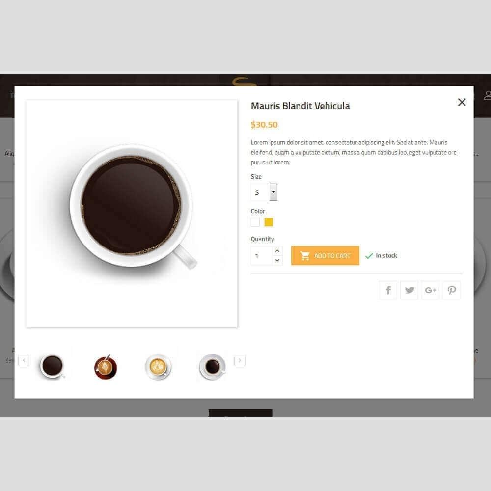 theme - Napoje & Wyroby tytoniowe - Coffee House - 9