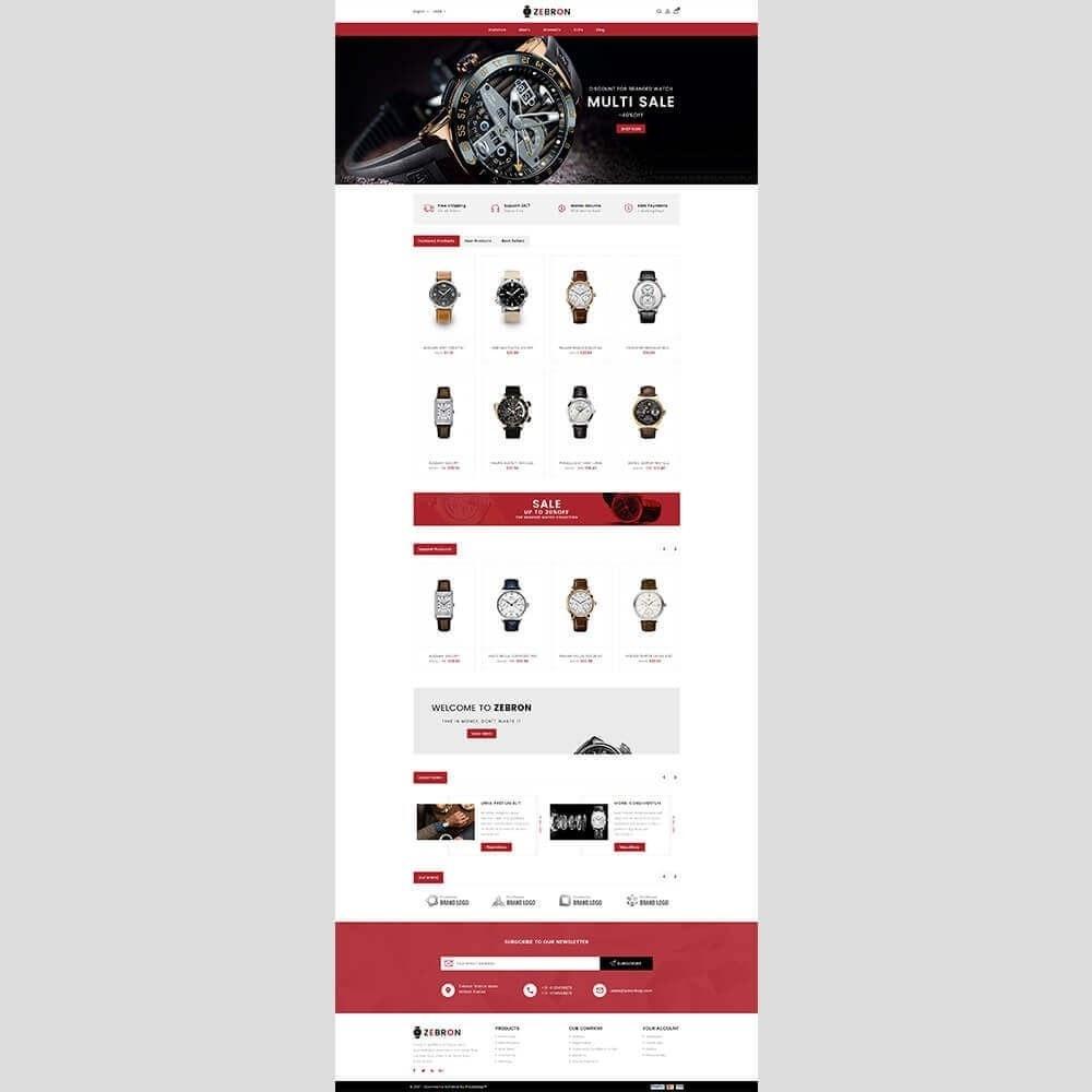 theme - Joalheria & Acessórios - Zebron watch store - 2