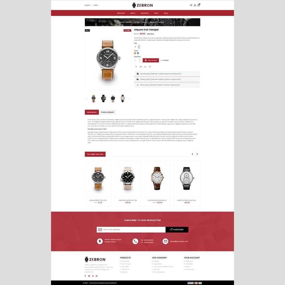 theme - Joalheria & Acessórios - Zebron watch store - 3