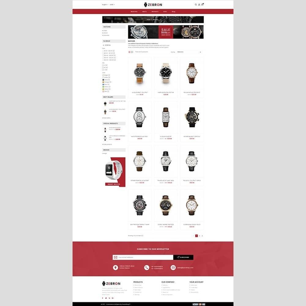 theme - Joalheria & Acessórios - Zebron watch store - 4