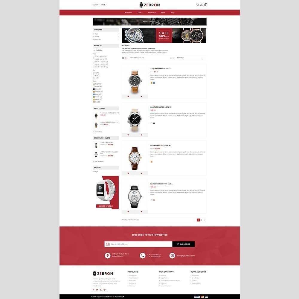 theme - Sieraden & Accessoires - Zebron watch store - 5