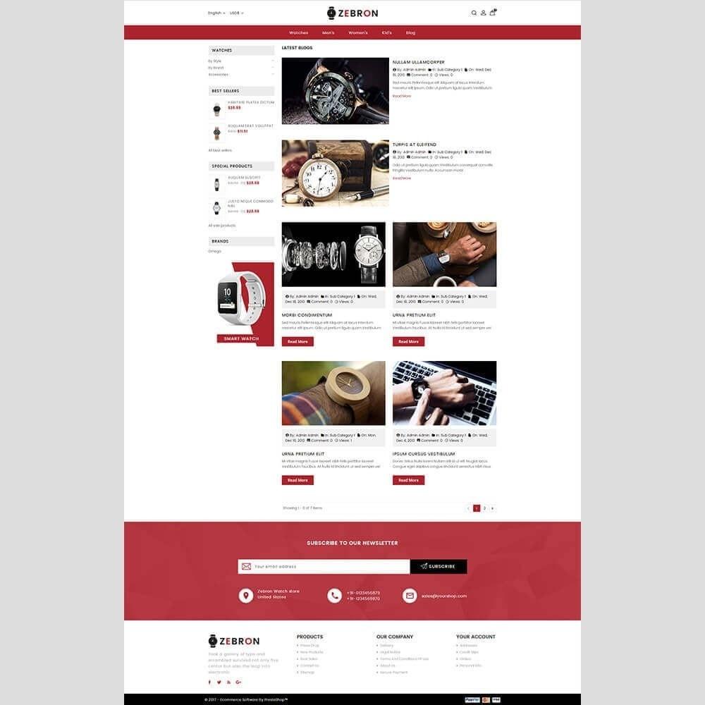 theme - Sieraden & Accessoires - Zebron watch store - 7