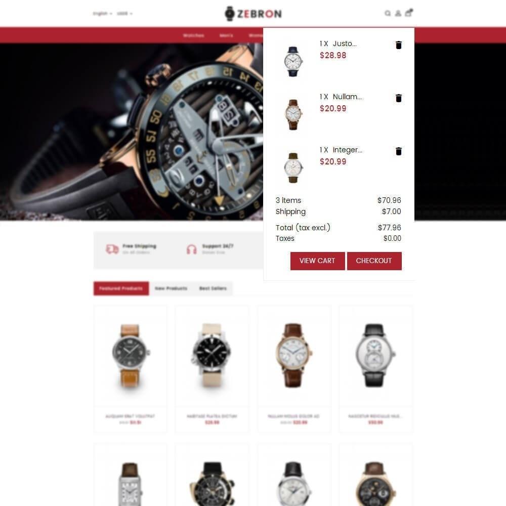 theme - Joalheria & Acessórios - Zebron watch store - 8
