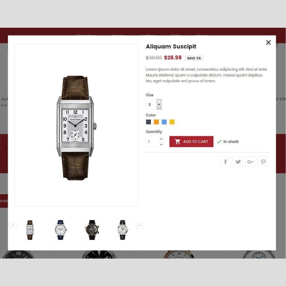 theme - Sieraden & Accessoires - Zebron watch store - 9