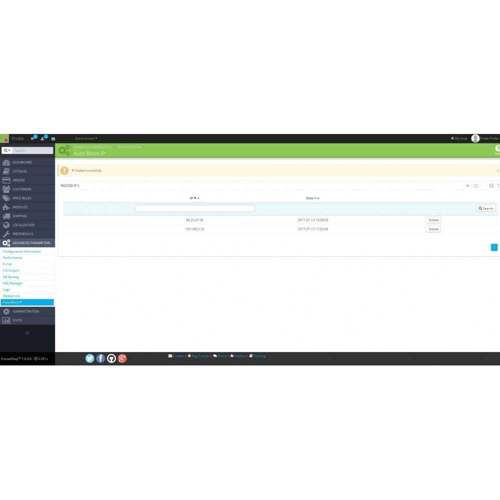 module - Security & Access - Auto Block IP - 4