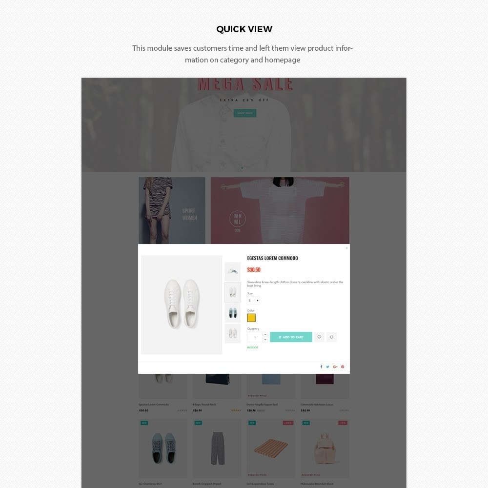 theme - Mode & Chaussures - H2 Fashion Store Responsive Multiple Prestashop Theme - 6