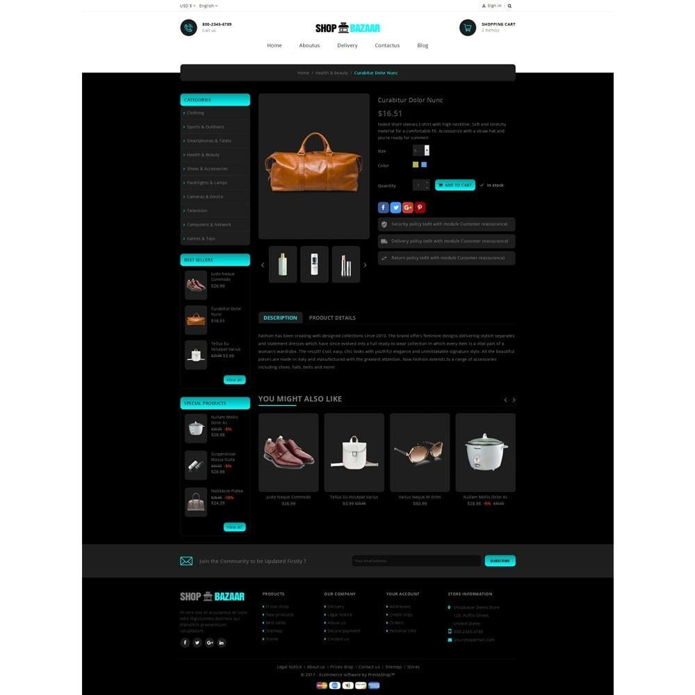 theme - Electrónica e High Tech - ShopBazar Multi  Store - 5