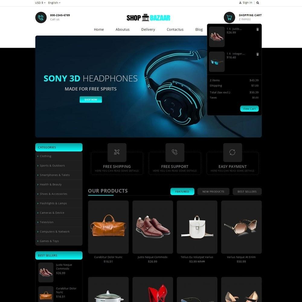 theme - Электроника и компьютеры - ShopBazar Multi  Store - 6