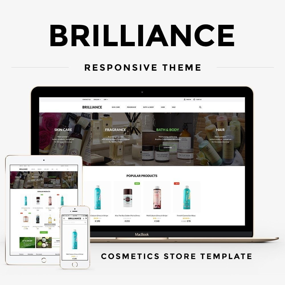 theme - Salute & Bellezza - Brilliance Cosmetics - 1