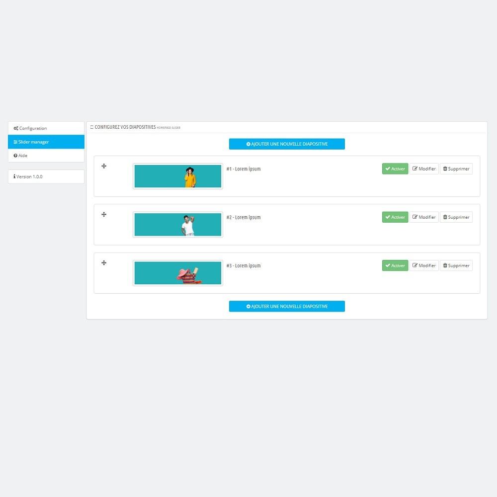 module - Sliders & Galeries - Homepage Slider Responsive & Full-screen - 6