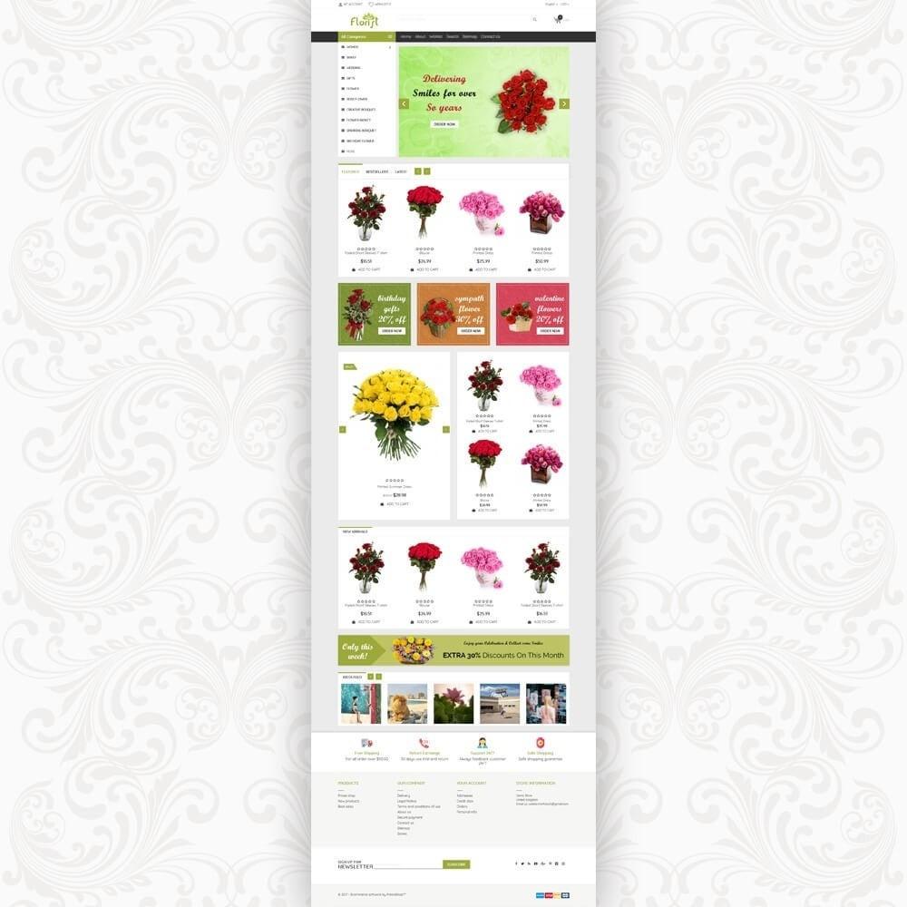 theme - Geschenke, Blumen & Feiern - Florist Flower Store - 2