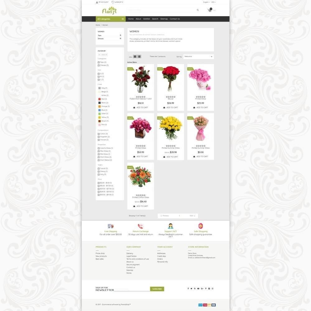 theme - Geschenke, Blumen & Feiern - Florist Flower Store - 3