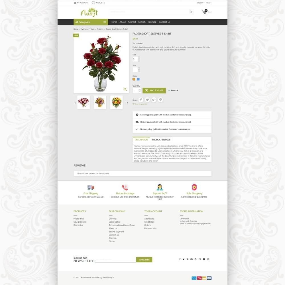theme - Geschenke, Blumen & Feiern - Florist Flower Store - 5