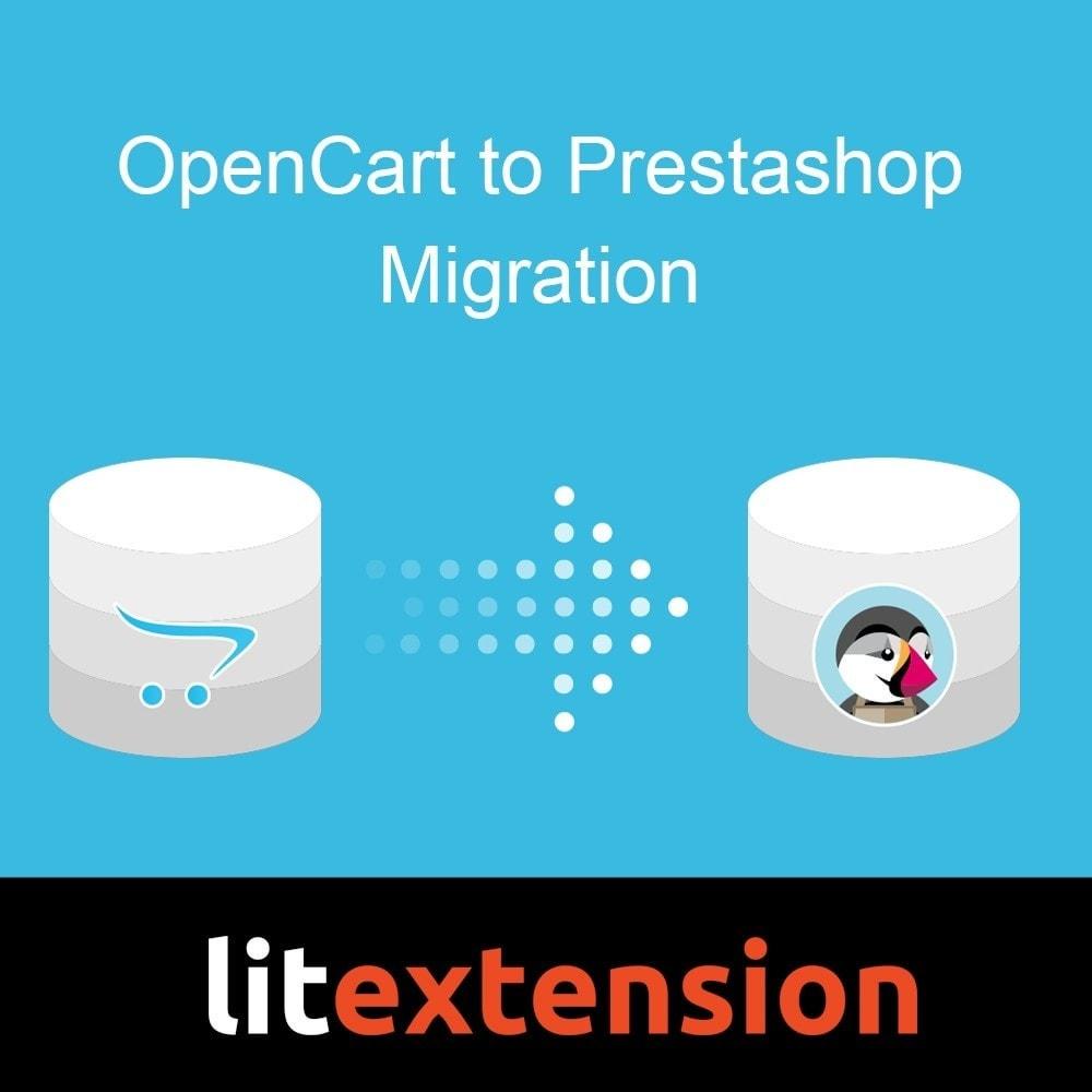 module - Migração de Dados & Registro - LitExtension: OpenCart to Prestashop Migration - 1