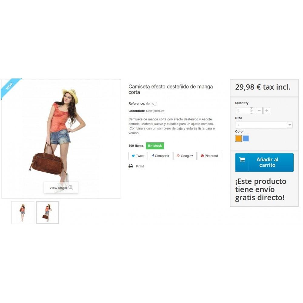 module - Gastos de transporte - Envío gratis producto - 3