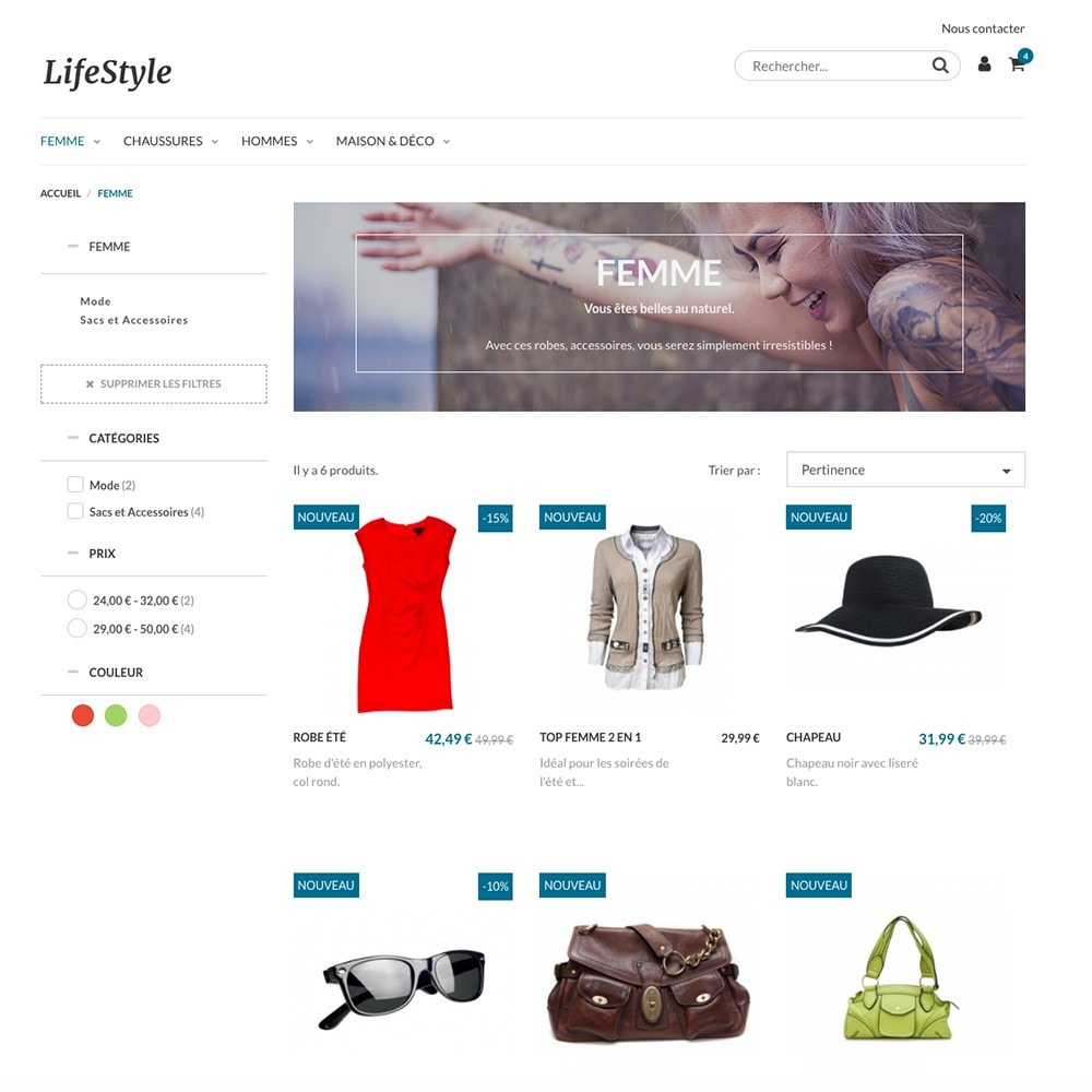 bundle - Current offers – Make great savings! - Store launch - Fashion & Accessories (e-commerce pack) - 2