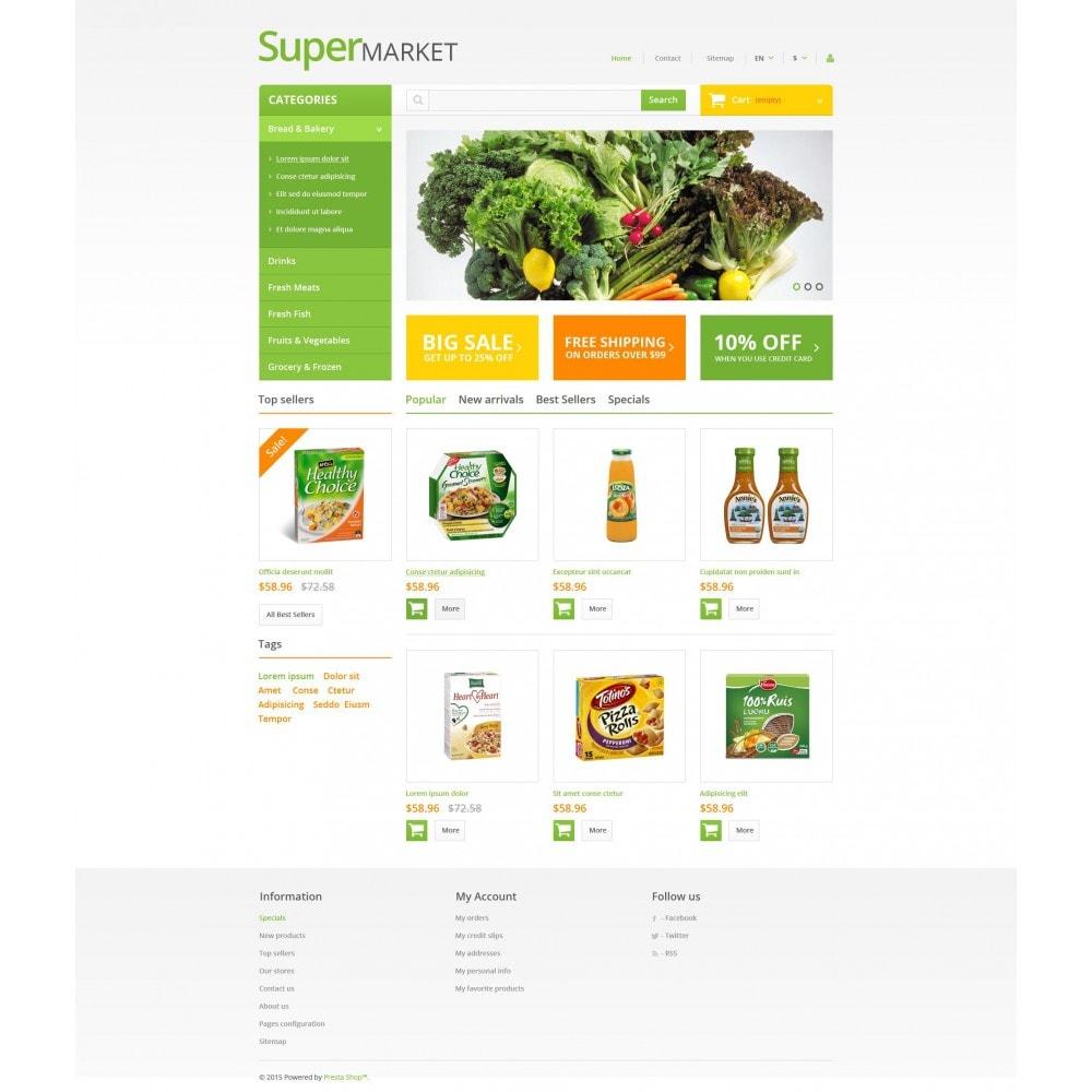 theme - Gastronomía y Restauración - Supermarket - 4