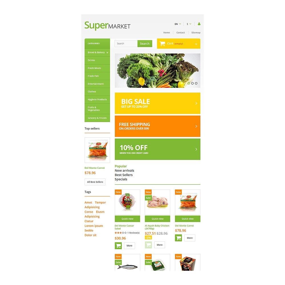 theme - Gastronomía y Restauración - Supermarket - 7