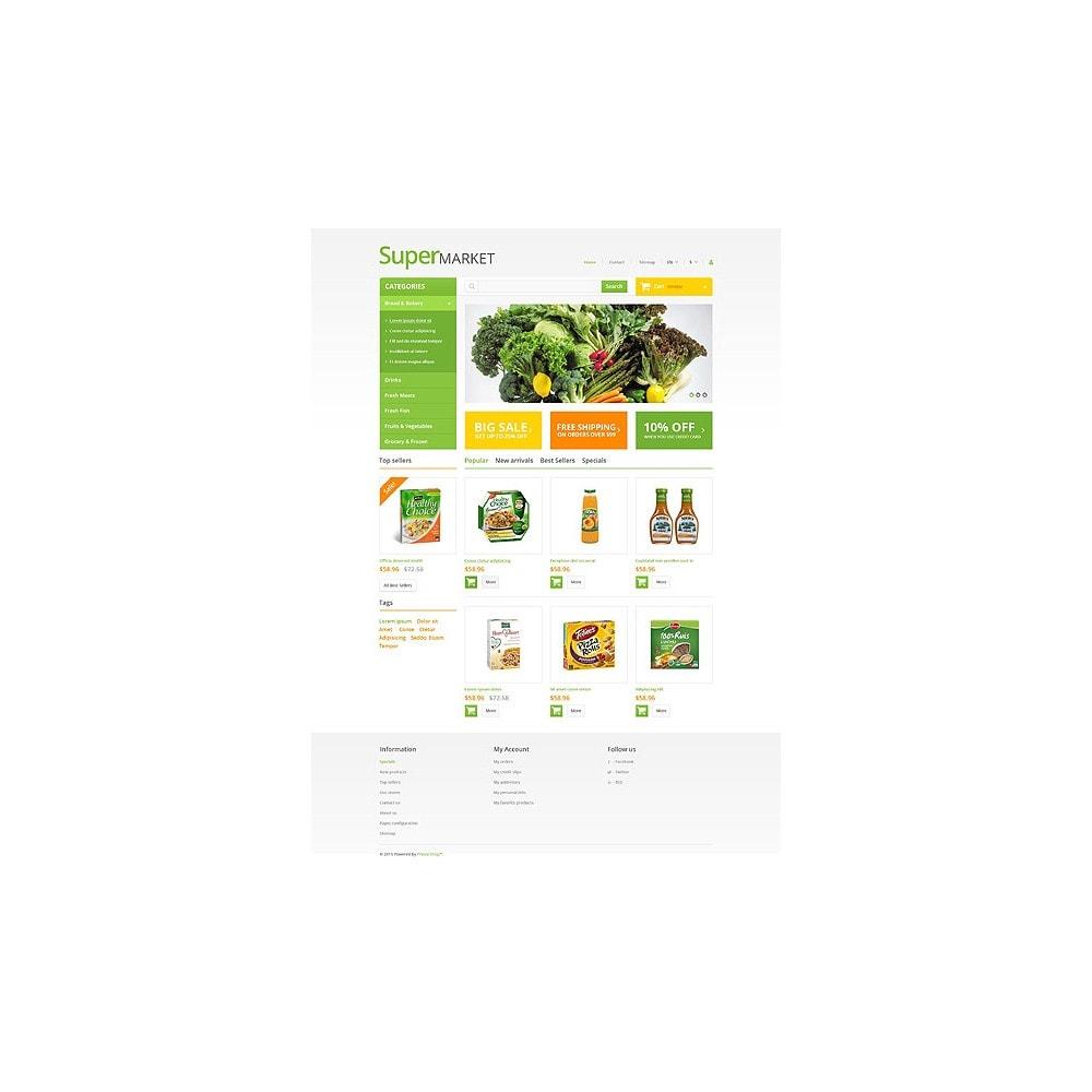 theme - Gastronomía y Restauración - Supermarket - 10