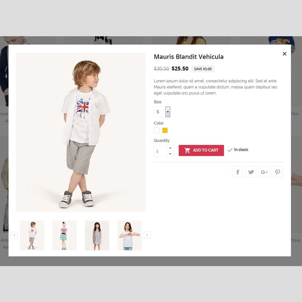 theme - Moda & Calçados - Kids Fashion - 8