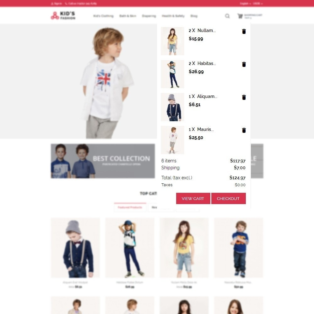 theme - Moda & Calçados - Kids Fashion - 9