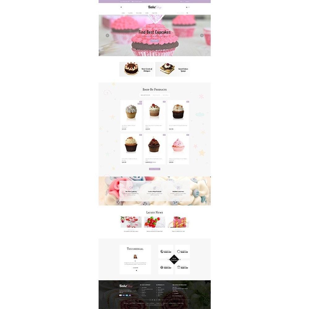 theme - Продовольствие и рестораны - Bake Shop - 2