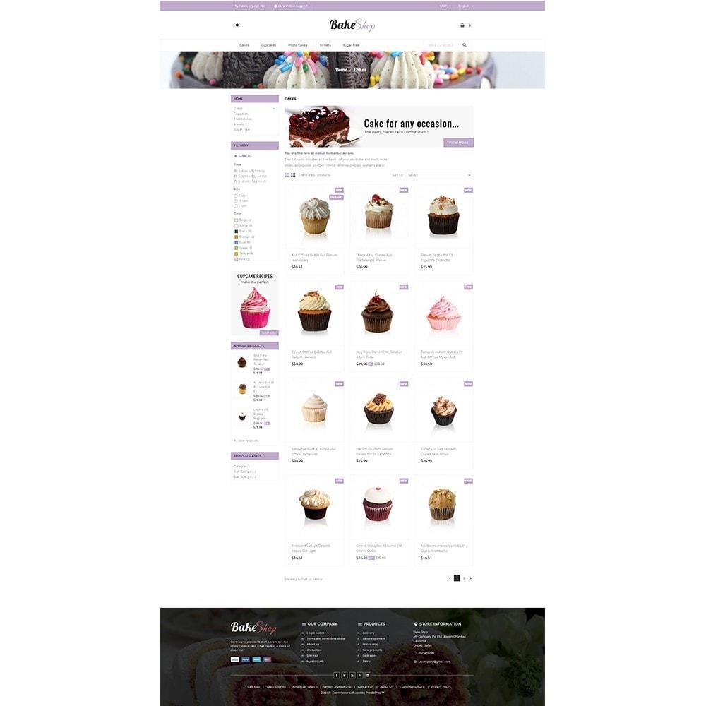 theme - Продовольствие и рестораны - Bake Shop - 3