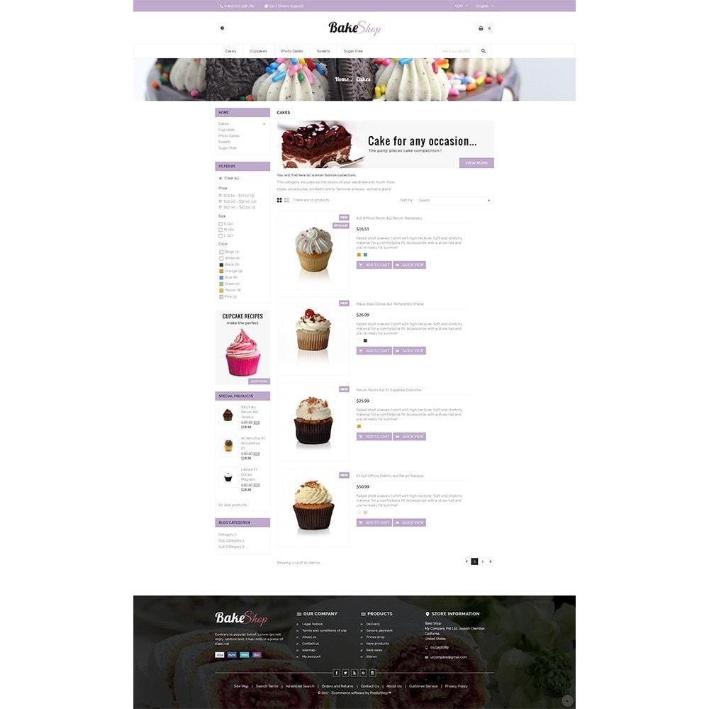 theme - Продовольствие и рестораны - Bake Shop - 4