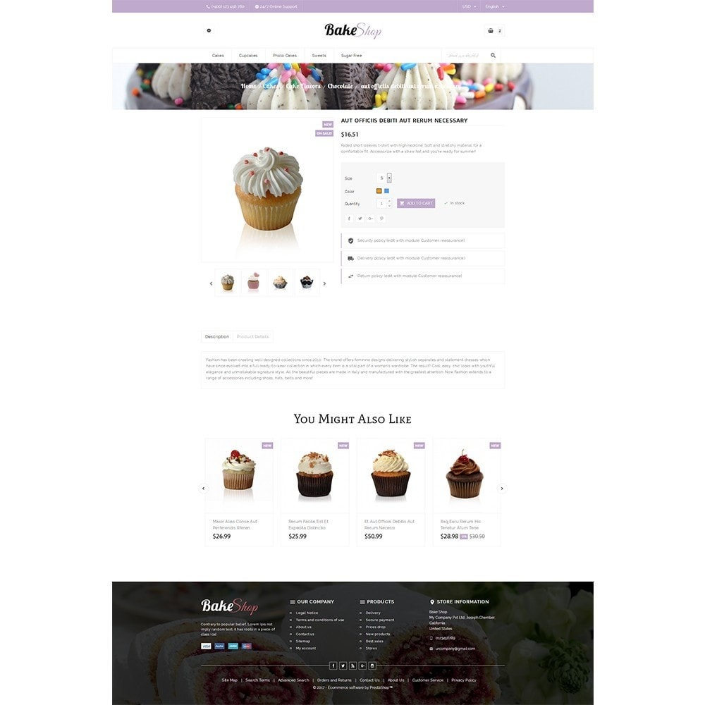 theme - Продовольствие и рестораны - Bake Shop - 5
