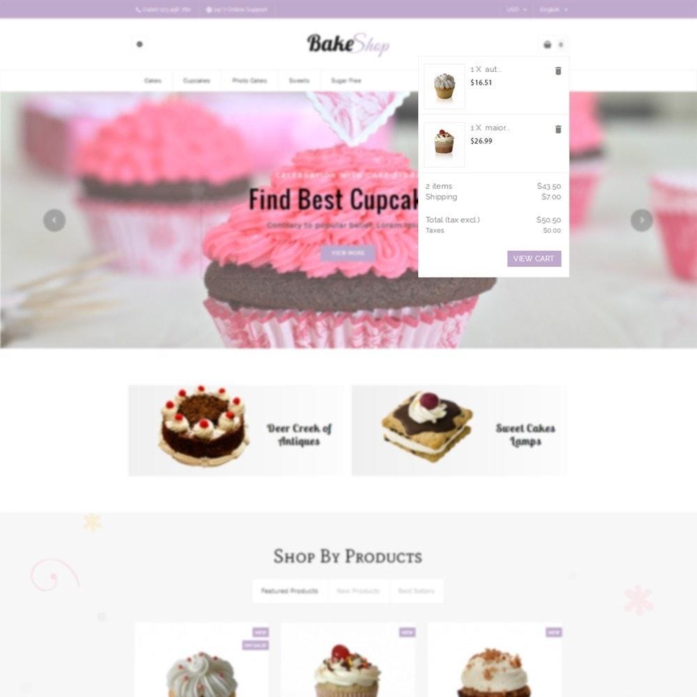 theme - Продовольствие и рестораны - Bake Shop - 6