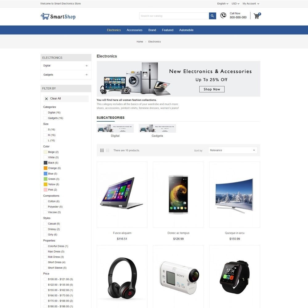theme - Electrónica e High Tech - Smart Electronics Store - 5