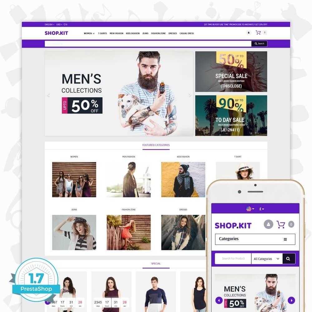 theme - Moda & Obuwie - Shopkit Fashion - 1