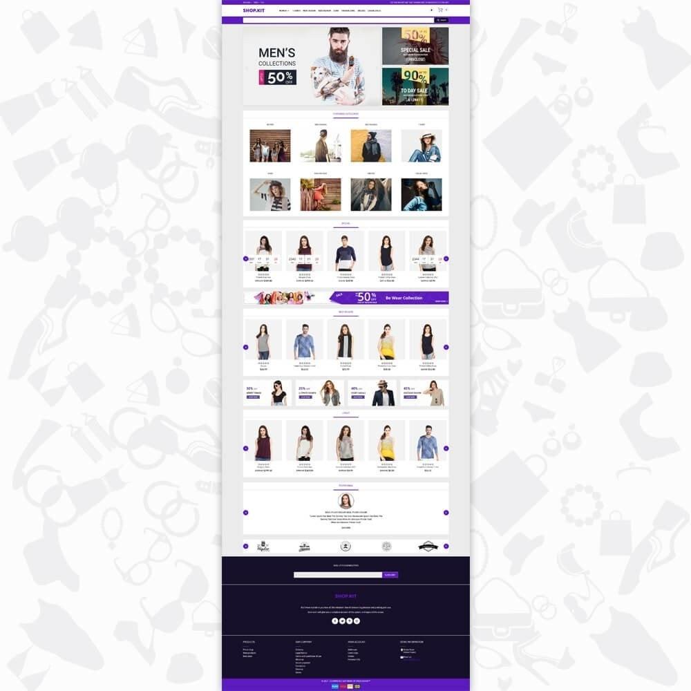 theme - Moda & Obuwie - Shopkit Fashion - 2
