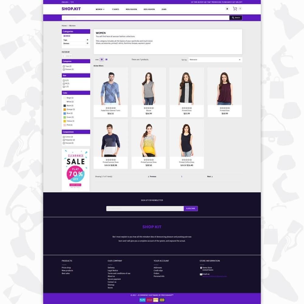 theme - Moda & Obuwie - Shopkit Fashion - 3