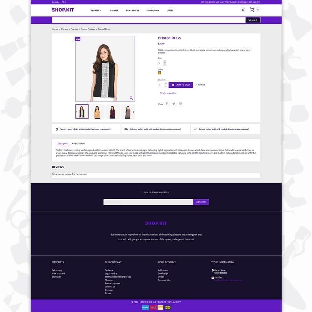 theme - Moda & Obuwie - Shopkit Fashion - 5