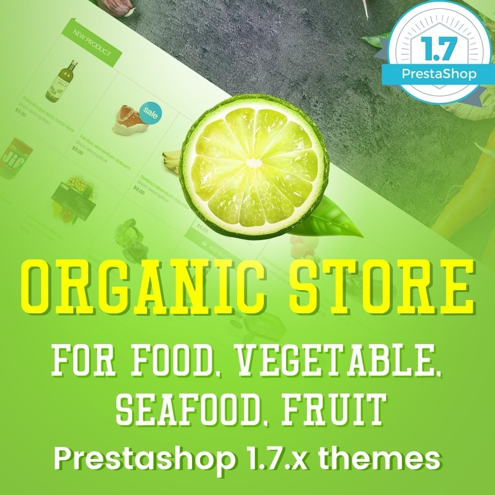 theme - Lebensmittel & Restaurants - Organic Food, Drinks, Fruit Store - 1