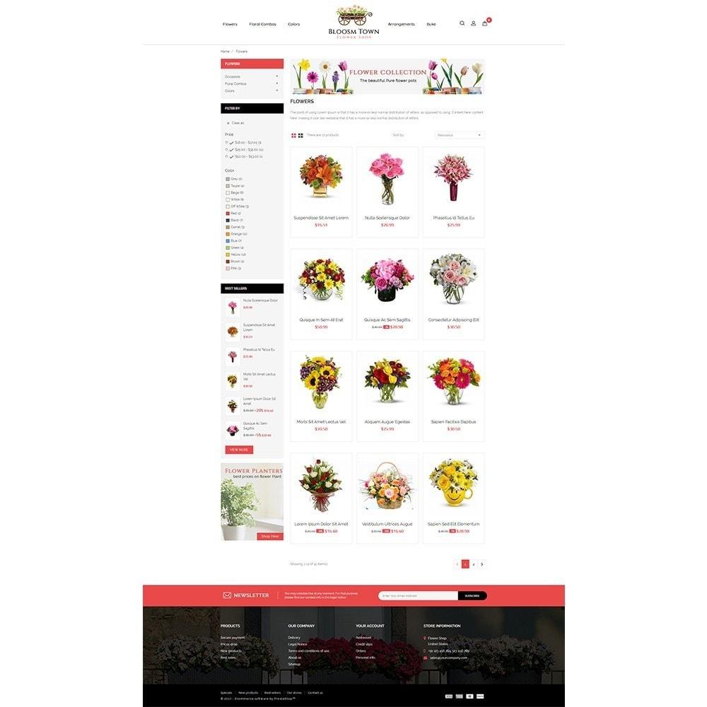theme - Prezenty, Kwiaty & Uroczystości - Flowershop Store - 3