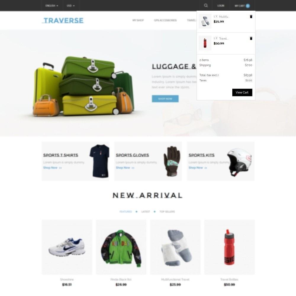 theme - Deportes, Actividades y Viajes - Traverse Store - 6