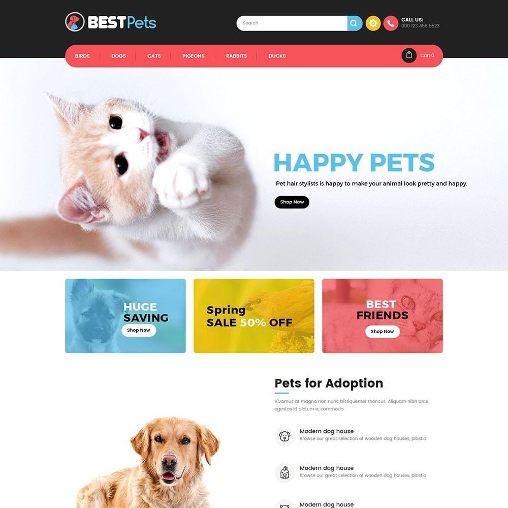 theme - Tier - Animal Pets Store - 2